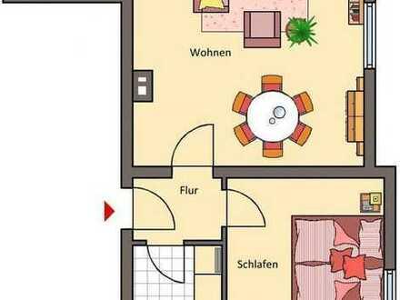 schöne 2-Zimmer-Souterain-Wohnung mit EBK in Ettlingen-Weier