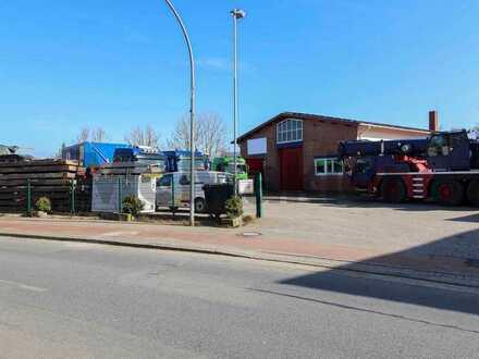 Flexibel aufteilbarer Gewerbebetrieb mit vollvermietetem Wohnhaus in Wesernähe im gepflegten Zustand