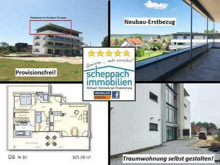PENTHOUSE - fast fertig - Neubau-Traumwohnung selbst gestalten - PROVISIONSFREI!