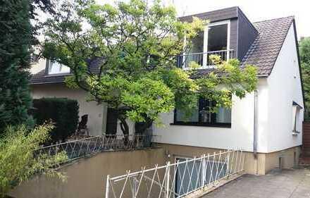 DG-Wohnung mit großem Garten