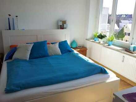 Schöne, helle zwei Zimmer Wohnung in München, Berg am Laim zur Untermiete, teilmöbliert