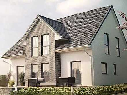 Modernes Stadthaus inkl.Rollläden, Fußbodenheizung, Wärmepumpe und Grundstück!