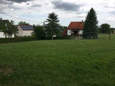 Ruhiges Baugrundstück in Langenbernsdorf