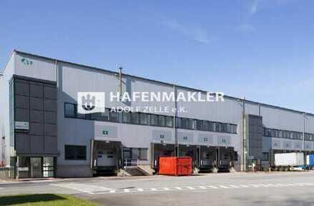 Moderne Logistikanlage im Hamburger Hafen!
