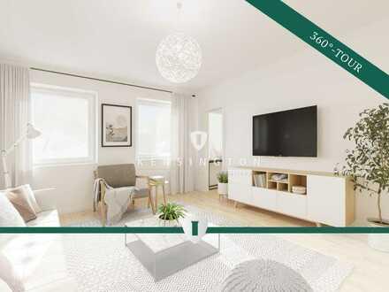 Helles und vermietetes 1-Zimmer-Apartment im Nürnberger Norden