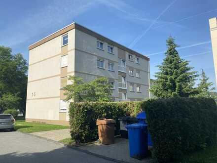 Gepflegte 3 Zimmer Eigentumswohnung mit Balkon, PKW Stellplatz und Einbauküche