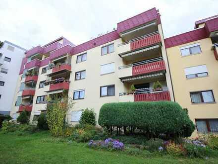 Sofort beziehbare, gepflegte 4,5 Zi-Wohnung mit 2 Balkonen