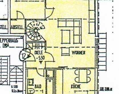 2 Zimmer Dachgeschoss-Wohnung in Tauberbischofsheim – zu vermieten