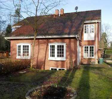 hübsche Doppelhaushälfte in Wandlitz-Rahmersee, nahe des Sees