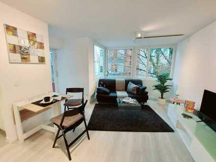 S-West: Exklusive möblierte 1,5-Zimmer-Wohnung
