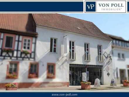 Individuell nutzbares Wohn-/Geschäftshaus mit Ladenlokal, Galerie, Wohnung und Ausbaupotenzial