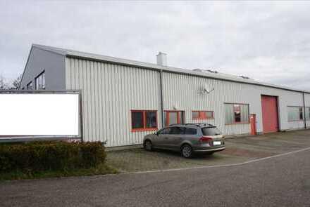 Im Alleinauftrag: Top-Gewerbehalle ca. 800 qm inkl. Büros und Außenfläche in Stuttgart-Eberdingen