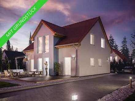 Fibav- Massiv- KFW 55 Traumhaus inklusive 5 Zimmern,Grundstück, Bodenplatte & unverbaubarem Blick.