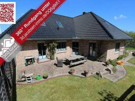 Exklusiv, großzügig und energieeffizient - Modernes Einfamilienhaus nahe der dänischen Grenze