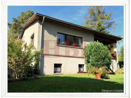 Einfamilienhaus inklusive Vollkeller, Nebengelass und überdachter Terrasse in Birkenwerder!