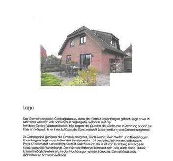 Schönes Haus mit fünf Zimmern in Nordwestmecklenburg (Kreis), Gottesgabe