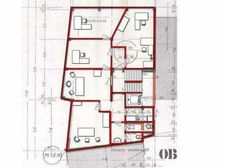 PROVISIONSFREI: 145 qm Innenstadtbüro - Umbau nach Ihrem Wunsch