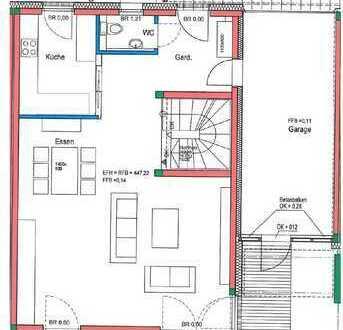 Hochwertig-ausgestattetes RMH mit 4 Schlafzimmer, LEICHT-Küche, FBH, Garage und vieles mehr…