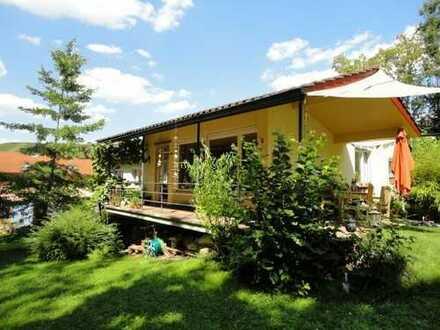 für Naturliebhaber schönes Einfamilienhaus mit großem  Garten