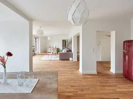 Courtagefrei: Alternative zum Haus - Große Familienwohnung mit eigenem Garten im Hamburger Westen