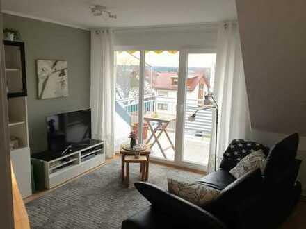 Ruhige, helle 2-Zimmerwohnung mit Balkon