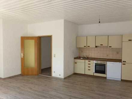 Ansprechende 1-Zimmer-Wohnung mit Balkon und Einbauküche