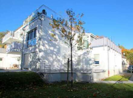 Neuwertige 2-Zimmer-Wohnung in kleiner Wohnanlage im Grünen mit U6-Anschluß