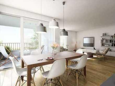 Ideale 3-Zimmer-Wohnung mit modernster Ausstattung und Balkon in Top-Lage