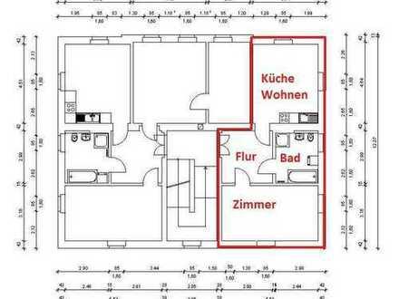 Schöne 1,5-Raumwohnung im Obergeschoss zu vermieten