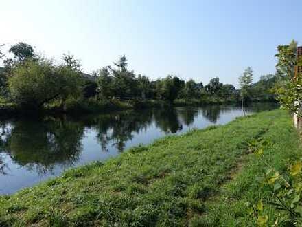Keine Käuferprovision! Wohnen am Wasser - großes EFH - nur wenige Schritte von der Brenz entfernt