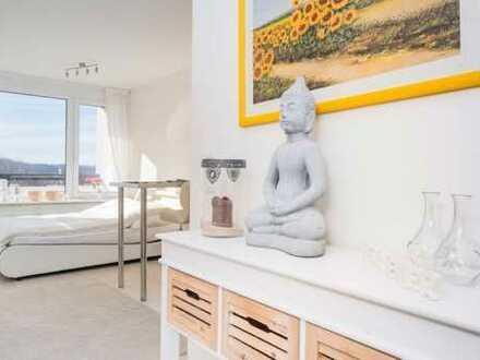 möblierte modernisierte 1-Zimmer-Wohnung mit Balkon in Herrsching