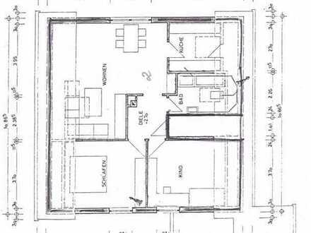 Vollständig renovierte 3-Zimmer-DG-Wohnung mit Balkon in Hausach
