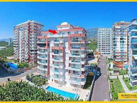 Beeindruckendes Penthouse in einer ruhigen Lage in Mahmutlar-Alanya!
