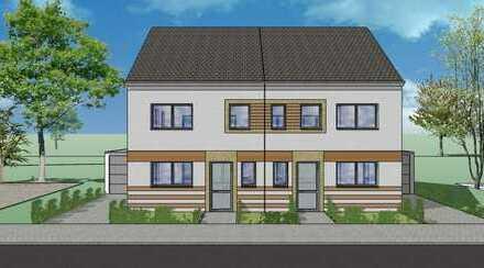 Attraktive Doppelhaushälfte m. ca. 153,5 m² Wfl, 6 Zi. und großem Garten in zentraler, ruhiger Lage