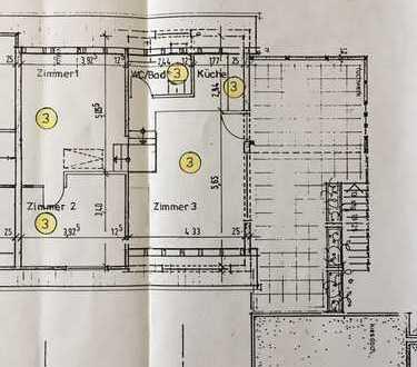 2,5-Zimmer-Wohnung mit großem Balkon und Einbauküche in Meßstetten-Heinstetten