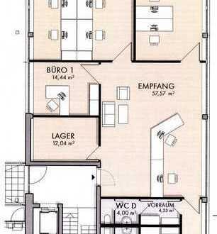 Helles Penthouse-Büro mit Air-Condition