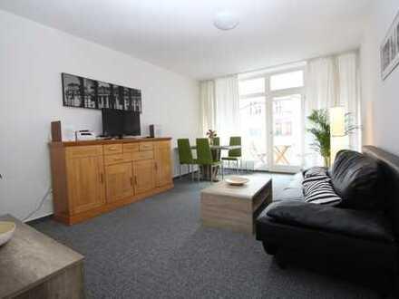 Vollmöbliert - Tolle 55 qm Wohnung mit Balkon im Herzen von Tempelhof