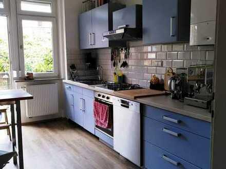 Modernisierte 4-Raum-Wohnung mit Balkon und Einbauküche in Karlsruhe / Durlach