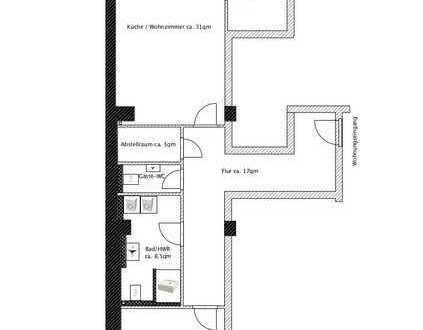 Neuwertige Erdgeschosswohnung mit drei Zimmern und 16qm-Terrasse in Oldenburg