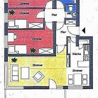 HD-SCHLIERBACH - Familien- oder WG-Wohnung in gesuchter Heidelberger Wohnanlage Ab 1.9.2019