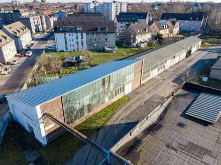 Attraktive Produktions - und Lagerhalle in Gelsenkirchen | hervorragende Anbindung
