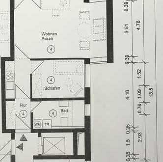 Neuwertige 2,5-Zimmer-Wohnung mit Balkon im Universitätsviertel Tübingen