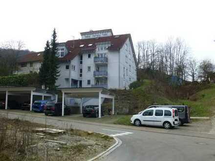 Gepflegte 2,5-Zimmer-Maisonette-Wohnung mit Balkon und Einbauküche in Inzlingen