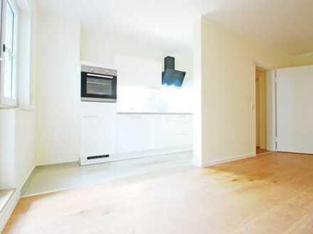 Erstbezug nach hochwertiger Sanierung * 2-Raum-Whng. * Terrasse * EBK * TG * Außenjalousien