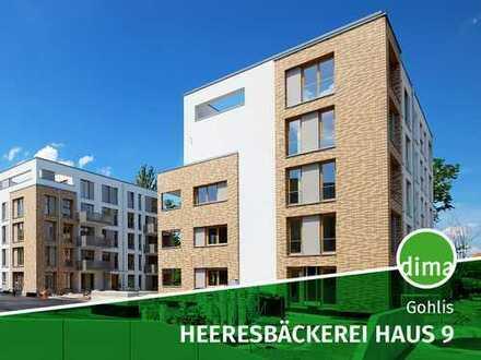 ERSTBEZUG   NEUBAU   Heeresbäckerei   Haus 9   großer Balkon   2 Bäder   HWR