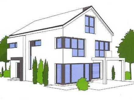 Neubauvorhaben (kfW-55 Haus) - Modernes, freistehendes Einfamilienhaus in Südlage/Sackgasse