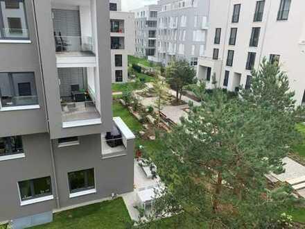 Großzügiges Wohnen im Quartier Stadtgärten am Henninger Turm