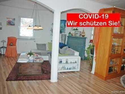 HEMING-IMMOBILIEN - Gepflegte 4ZKB-Wohnung mit Blick auf den Dorfplatz
