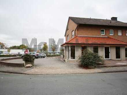 Flexibel nutzbar! Wohnhaus mit Gewerbefläche in Lengerich!