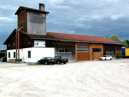 Produktions- und Lagerräume mit großzügigem Freigelände incl. Büro- und Aufenthaltsräume